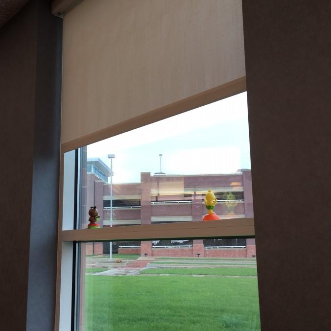 Chemo room_window fun